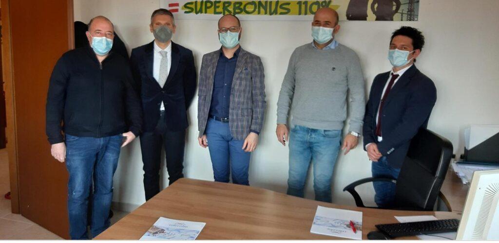 """Accordo Cna Avezzano e Comune di Collarmele per info su """"Superbonus 110%"""""""